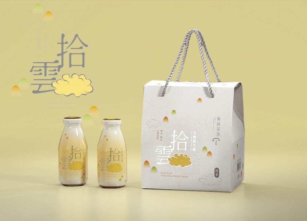 【魔菇部落】2盒_拾雲銀耳露禮盒(每盒6罐,每罐290ML)(免運)