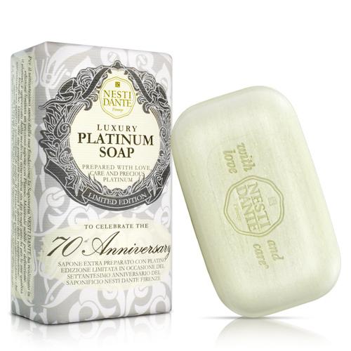 (任)Nesti Dante 義大利手工皂-70週年典藏紀念版-鉑金菁萃皂(250g)