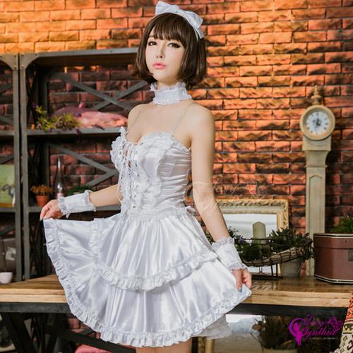 【Sexy Cynthia】角色扮演 可愛蘿莉風七件式女僕角色扮演服