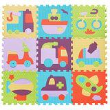 【BabyTiger虎兒寶】MIT 遊戲爬行地墊-魔術方塊系列 任選1入