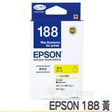 EPSON 188 / T188450 黃色 原廠墨水匣