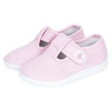 英國 JoJo Maman BeBe 嬰幼兒童帆布鞋/休閒鞋 淡粉(JJCV1-003)