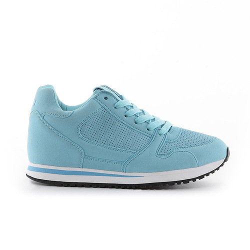 TOP GIRL-單色優雅運動慢跑休閒鞋-藍(品特)