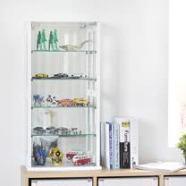 《Peachy life》80cm直立式玻璃展示櫃/公仔櫃/模型櫃 (兩色可選)