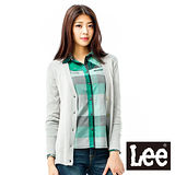 Lee-毛衣外套 長版長袖針織前開襟-女款(灰) 共二色 LL11030108R