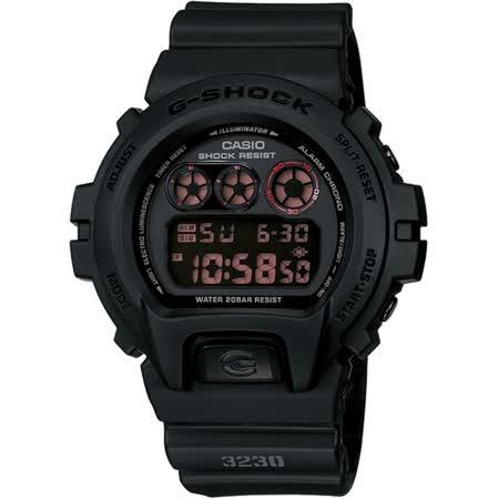 CASIO G-SHOCK G-FORCE系列經典款腕錶-黑