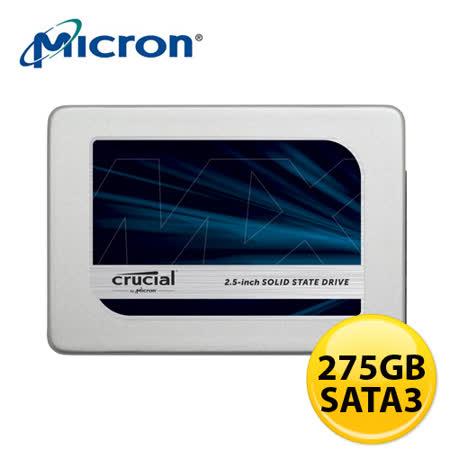 美光 Micron Crucial MX300 275GB SSD 固態硬碟 -friDay購物