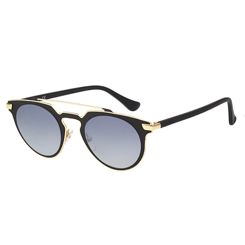 Calvin Klein- 復古款太陽眼鏡(黑配金)