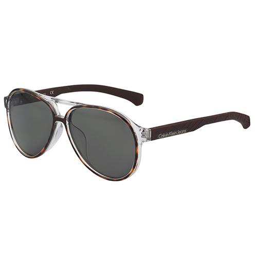 Calvin Klein Jeans - 帥氣雷朋型太陽眼鏡(琥珀色)