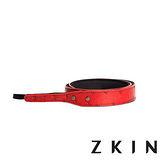 ZKIN Siren Mini 微單專用皮革肩帶(火焰紅)