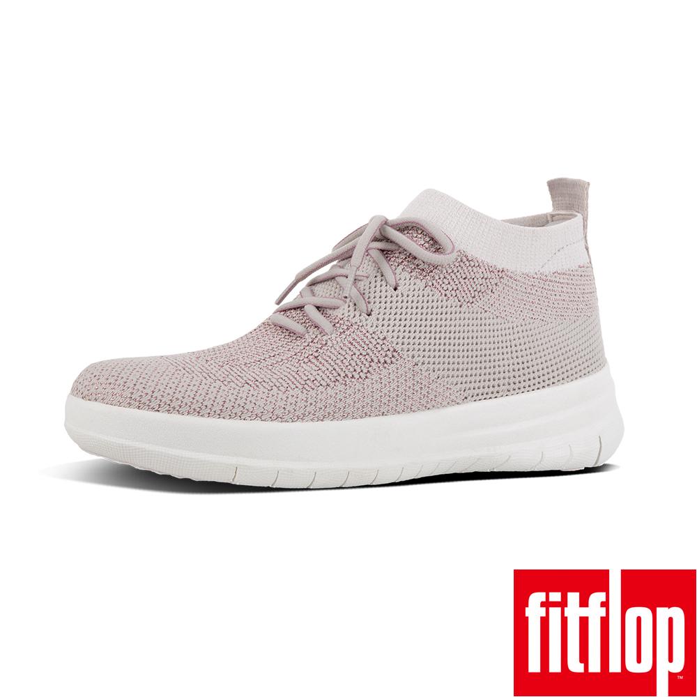 FitFlop - (女款)UBERKNIT SLIP-ON HIGH TOP SNEAKER-沙色/裸膚金