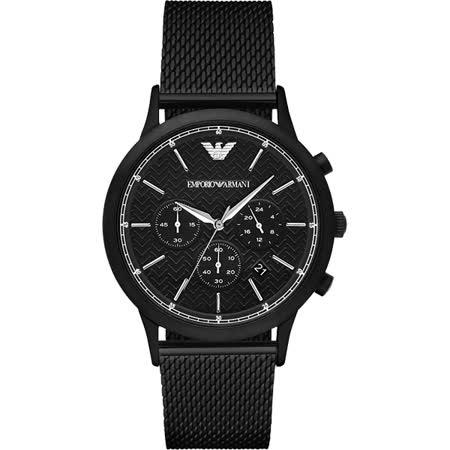 EMPORIO ARMANI Classic 米蘭帶時尚腕錶 AR2498