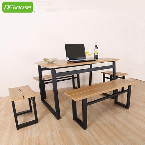 ~DFhouse~英式工業風~餐桌 2雙人餐椅 2單人餐椅