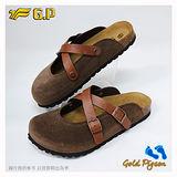 【G.P 休閒個性柏肯鞋】W778-37 咖啡色 (SIZE:35-39 共二色)