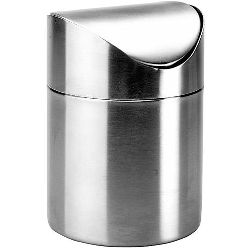 《IBILI》Clasica桌型垃圾桶(霧銀)