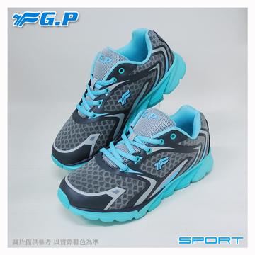 【G.P 輕量運動鞋】P7619W-21 水藍色 (SIZE:36-40 共三色)