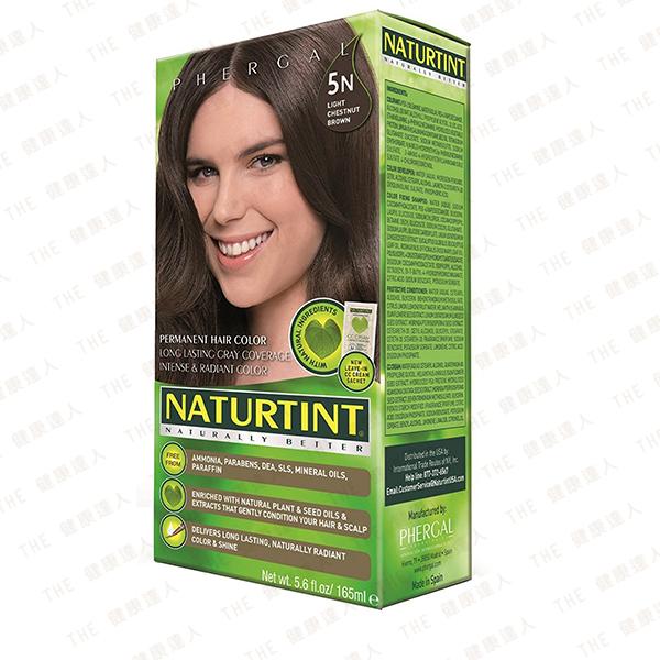 Naturtint 赫本 植物性染髮劑【5N 淺棕黑色】