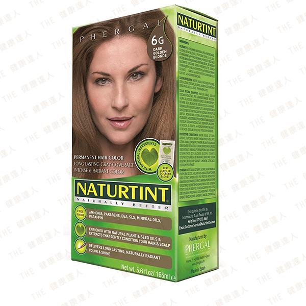 Naturtint 赫本 植物性染髮劑【6G 金棕色】