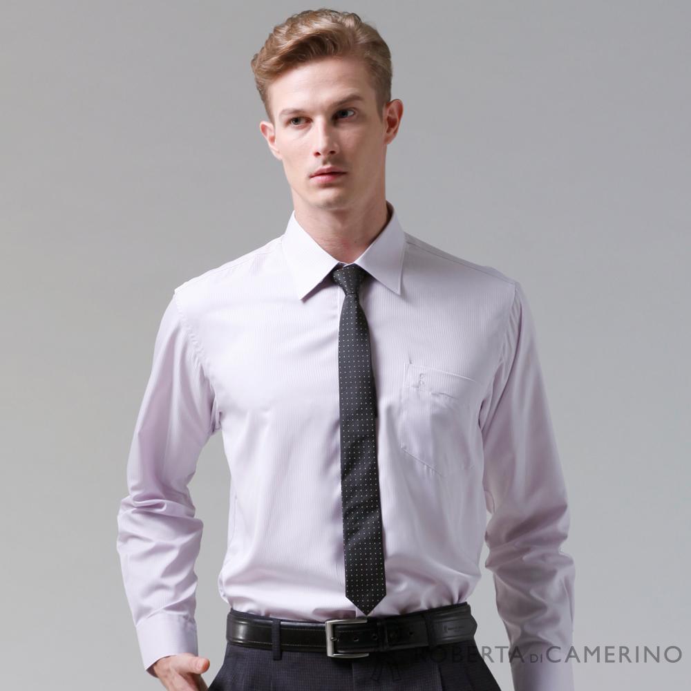 ROBERTA諾貝達 台灣製 嚴選穿搭 吸溼速乾長袖襯衫 淺粉