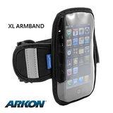 【全球第一品牌 ARKON】 Apple iPod touch 6、iPhone5/5C/5S及4吋螢幕手機專屬運動臂套 (XL ARMBAND)