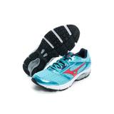 MIZUNO 美津濃 女鞋 慢跑鞋 藍紅 J1GD161360