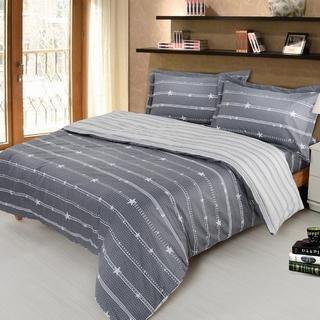 夢工場 星光大道精梳棉被套床包組 -雙人