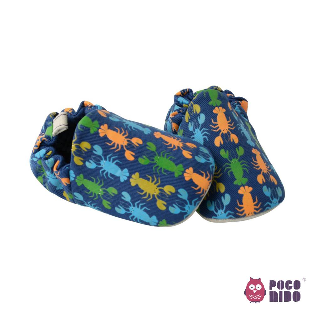 英國 POCONIDO 純手工柔軟嬰兒鞋 (小龍蝦)