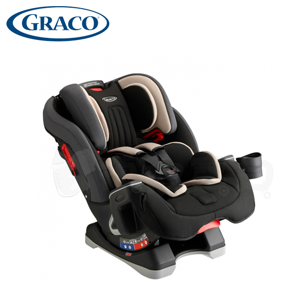 Graco MILESTONE 一台搞定 0-12歲汽車安全座椅 -灰熊