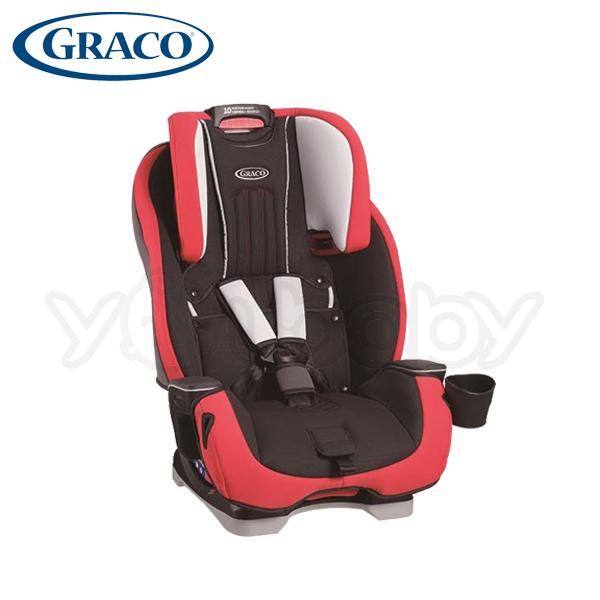 Graco MILESTONE 一台搞定 0-12歲汽車安全座椅 -限量版(紅)