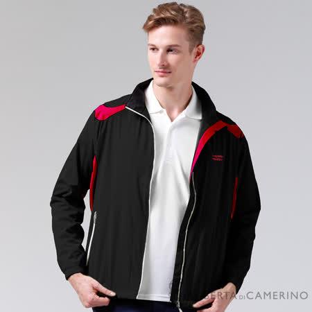 ROBERTA諾貝達 休閒極品 輕薄休閒防潑水夾克外套 黑色