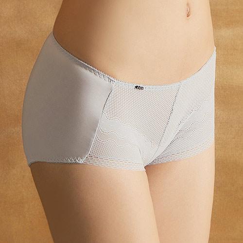 【EASY SHOP】絕美開運 中腰平口褲(就要銀)