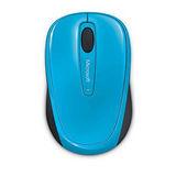 微軟 Microsoft 無線行動滑鼠 3500 - 藍 盒裝
