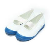 (童) MOONSTAR 素面室內鞋 藍白 鞋全家福