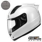 【SOL SL-68S II 素色系列】全罩式安全帽│流線鴨尾造型│機車│BWS KTR KYMCO