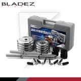 【BLADEZ】YD30-PRO版20KG電鍍快速卡扣組合式啞鈴