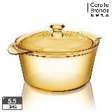 【康寧 Visions】 Flair 5.5L晶華鍋