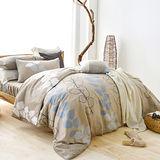 美夢元素 帕米拉 天鵝絨雙人加大四件式 全鋪棉兩用被床包組