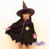 【天使霓裳】魔法俏女巫 萬聖節童裝系列(黑)