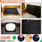 【Osun】厚棉絨防螨彈性沙發座墊套/靠墊套(多色可選2人座CE208)