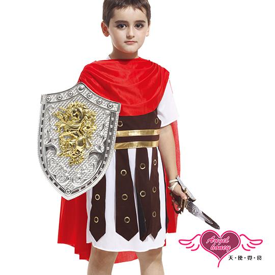 【天使霓裳】古羅馬小戰士 萬聖節童裝系列(紅M~L)