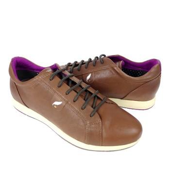 GEOX - D AVERY B  咖啡色休閒鞋