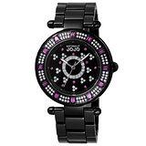 NATURALLY JOJO 夜霧星光晶鑽陶瓷腕錶-JO96686-88F