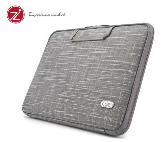 Cozistyle 15吋MacBook Pro Retina 智能散熱防潑水硬殼筆電保護包- 天然亞麻灰