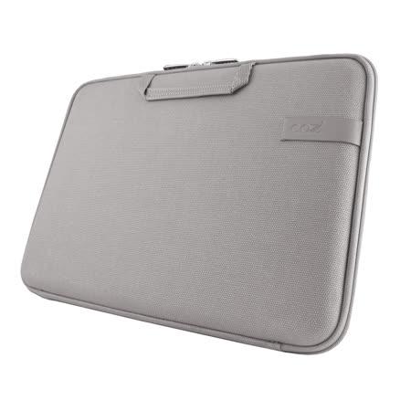 Cozistyle 13吋 Macbook Air /Macbook Pro(Retina) 智能散熱防潑水手提硬殼電腦保護套-帆布中庸灰 -friDay購物