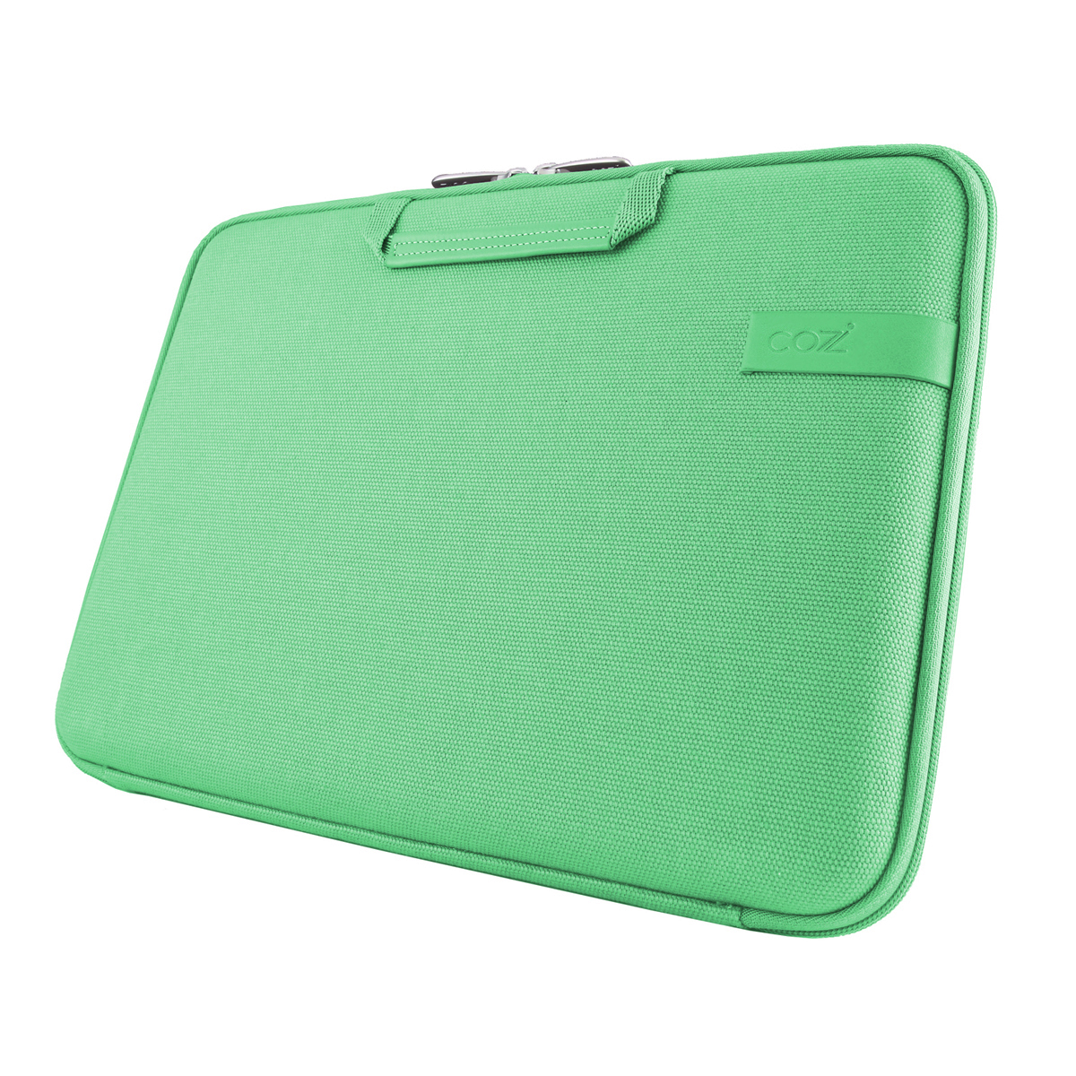 Cozistyle 13吋 Macbook Air /Macbook Pro(Retina) 智能散熱防潑水手提硬殼電腦保護套-帆布蘋果綠