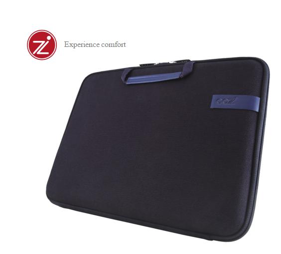 Cozistyle 13吋 Macbook Air /Macbook Pro(Retina) 智能散熱防潑水手提硬殼電腦保護套-帆布沉靜藍