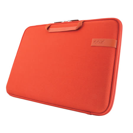 Cozistyle 13吋 Macbook Air /Macbook Pro(Retina) 智能散熱防潑水手提硬殼電腦保護套-帆布熔岩橘 -friDay購物