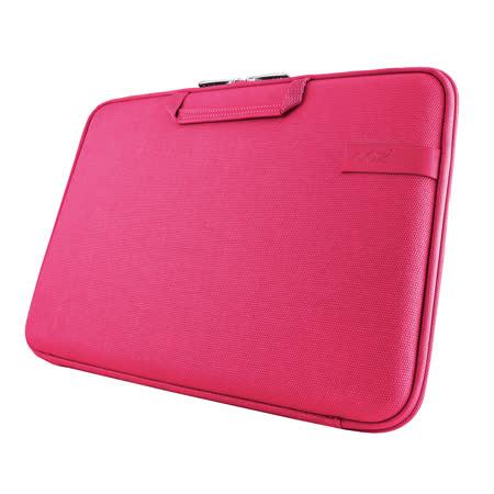 Cozistyle 13吋 Macbook Air /Macbook Pro(Retina) 智能散熱防潑水手提硬殼電腦保護套-帆布蜜桃紅 -friDay購物
