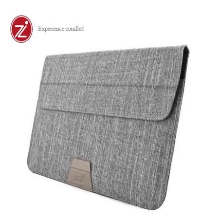 Cozistyle 13吋 Macbook Air/Pro(Retina) 防潑水可當立架 磁扣信封式筆電保護套-迷霧灰 -friDay購物