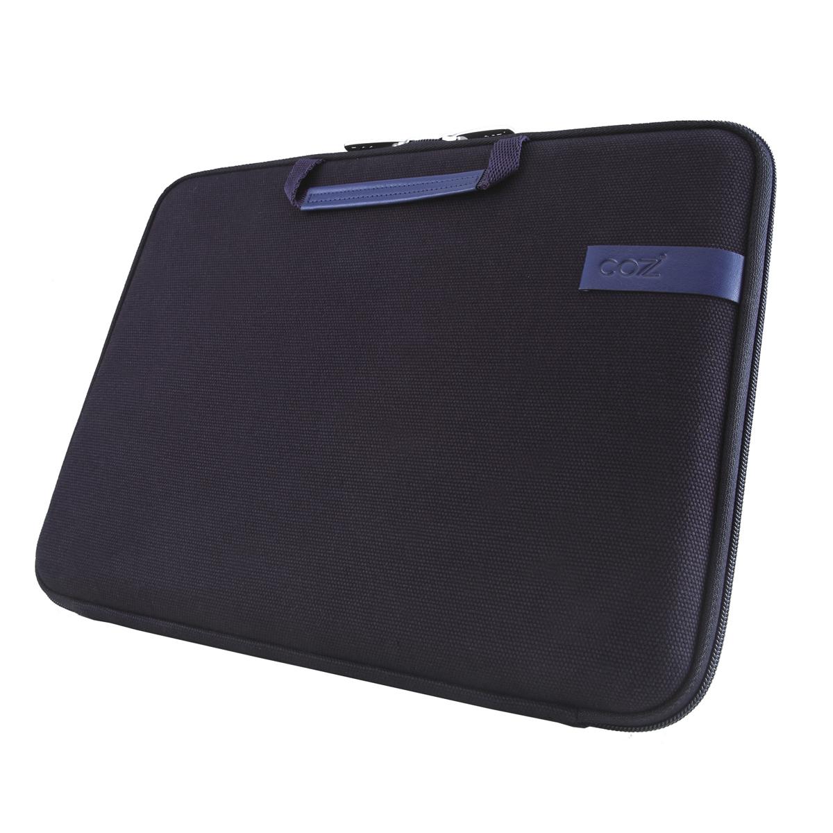 Cozistyle SmartSleeve for 15.4吋 MacBook Pro (Retina) 智能散熱防潑水手提硬殼電腦保護套 - 帆布沉靜藍